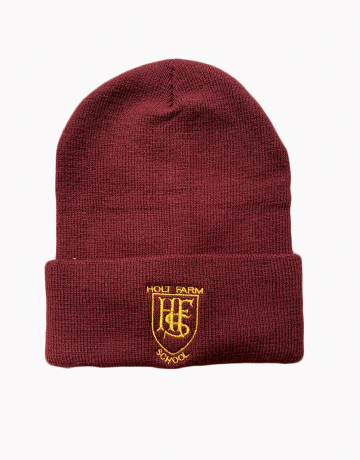 Holt Farm Ski Hat - Maroon